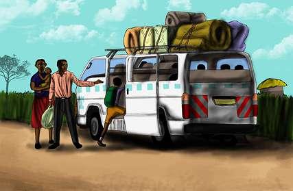 Sie beschließen, in eine andere Region zu ziehen, wo man ihre LRA-Vergangenheit nicht kennt.