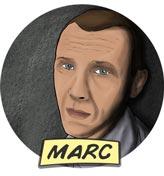 Gezeichnetes Portrait von Marc Ellison