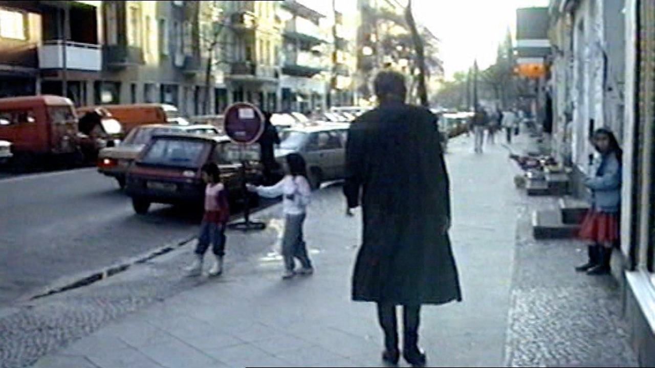Video: Video-Still: Blixa Bargeld 1989 in Berlin